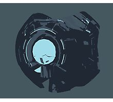 Minimalist 343 Guilty Spark from Halo  Photographic Print