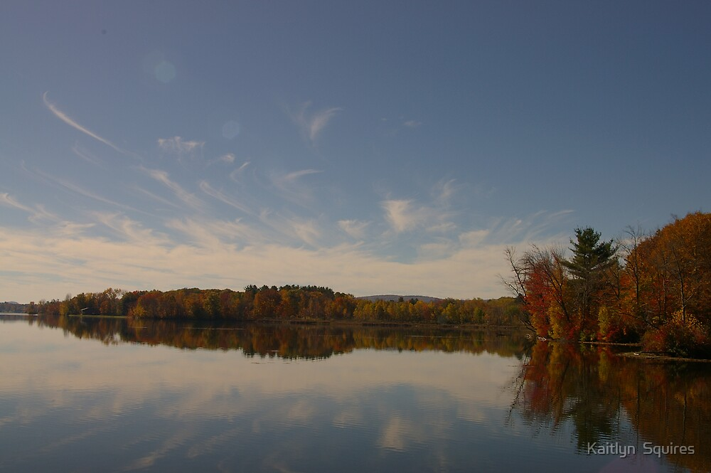 Reflection of fall by Kaitlyn  Squires