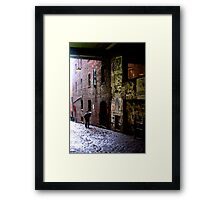Alley of Broken Dreams Framed Print
