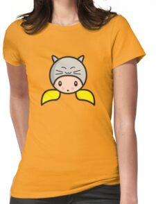 Kawaii girl Alicia Womens Fitted T-Shirt