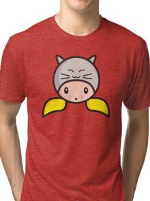 Kawaii girl Alicia grunged Tri-blend T-Shirt