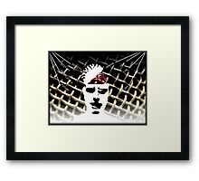 Closed Mind Opening Framed Print