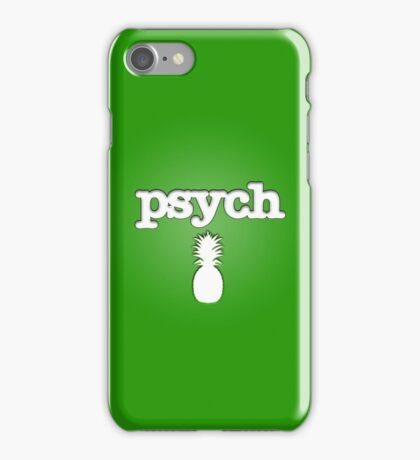 Psych Design Variation iPhone Case/Skin
