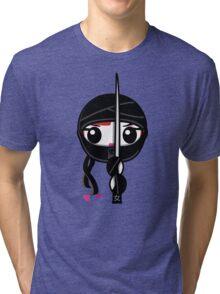 Kunoichi - Ninja Girl Tri-blend T-Shirt