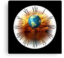 Global Warming Just A Matter Of Time Canvas Print