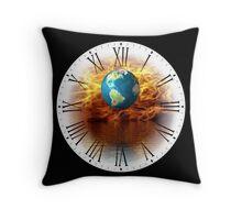Global Warming Just A Matter Of Time Throw Pillow