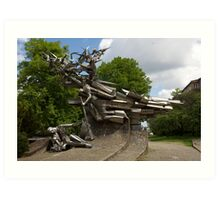 Monument to the Defenders of the Polish Post Office Art Print
