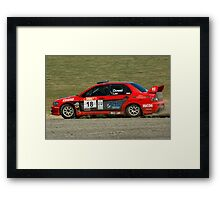 Slideways sweeper Framed Print