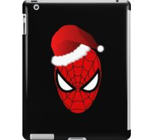 Christmas Spider-Man in Santa Hat  iPad Case/Skin