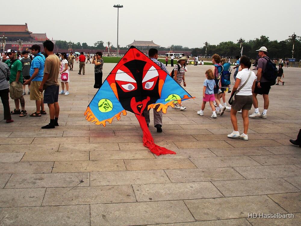 Kite Vendor by HD Hasselbarth