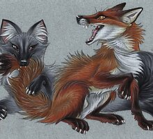Foxies by Mayra Boyle