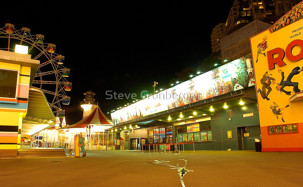 Luna Park After Dark by Steve Grunberger