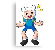 Adventure Time - Finn the Human Canvas Print