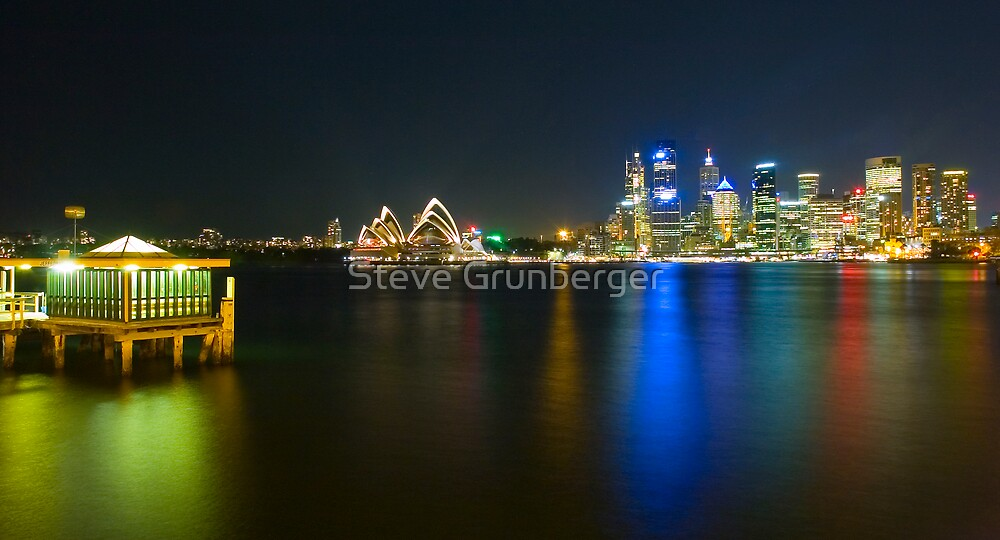 Sydney Harbour Reflections by Steve Grunberger