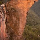 Not one stone will stand upon another (Hanging Rock in the Lords Blue Mountains) by STEPHEN GEORGIOU