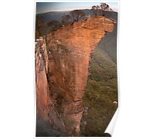 Not one stone will stand upon another (Hanging Rock in the Lords Blue Mountains) Poster