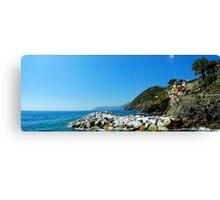 Cinque Terre Panorama Canvas Print