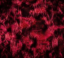 Claret stained texture abstract  by Arletta Cwalina