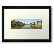 Florence from Ponte Vecchio Framed Print