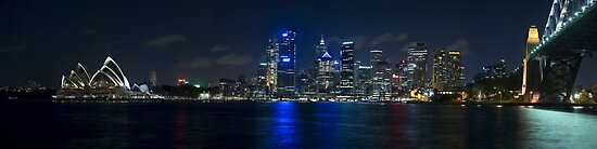 Sydney Skyline Panorama by Gino Iori