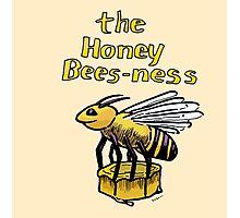 Honey Bees-ness Photographic Print