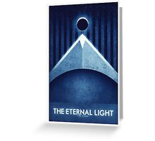 The Moon - The Eternal Light Greeting Card