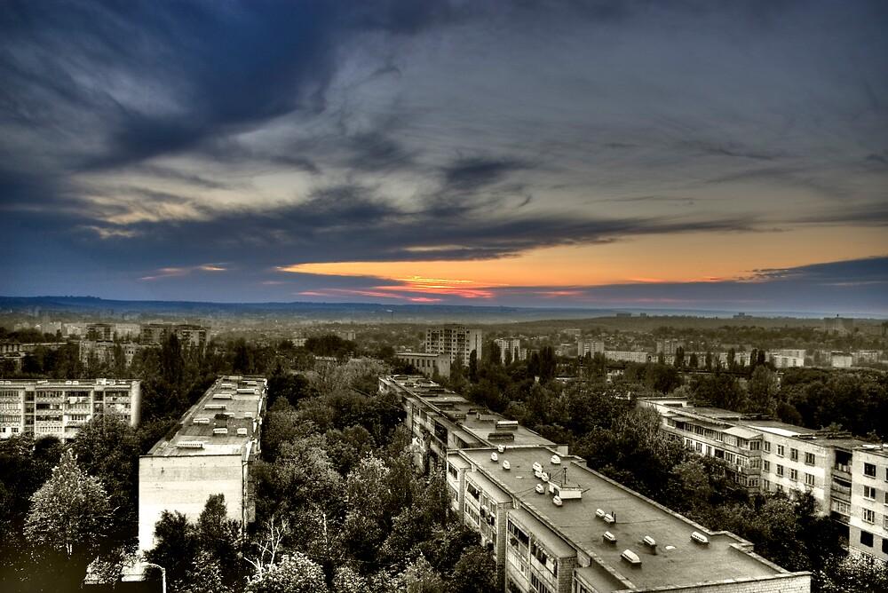 Sunset by John Roshka