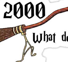 Nimbus 2000 - What do you ride? Sticker