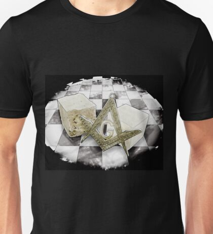 Masonic symboles Unisex T-Shirt