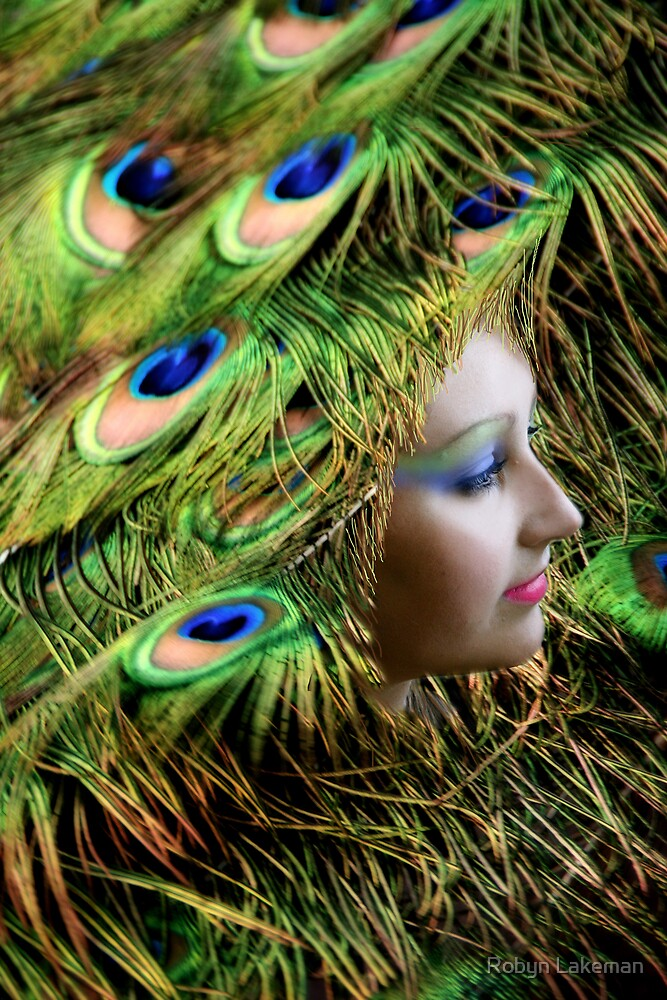 Lady of the Peacocks by Robyn Lakeman