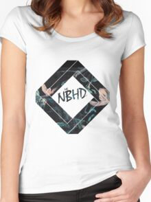 The NBHD Women's Fitted Scoop T-Shirt