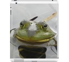 Bull Frog Portrait iPad Case/Skin