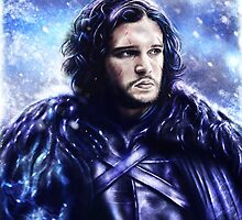 Game of Thrones - Jon Snow by p1xer