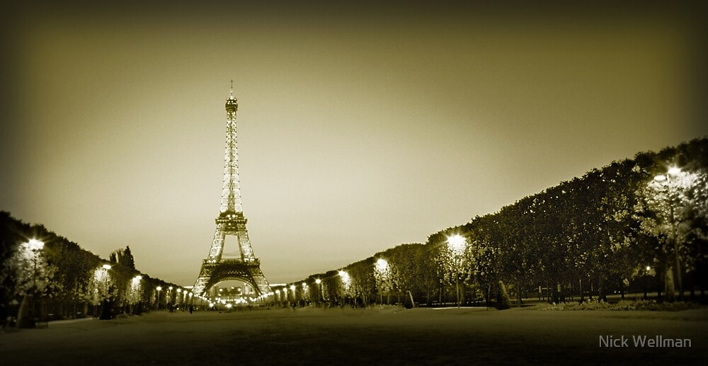 A Tower In Paris by wellman