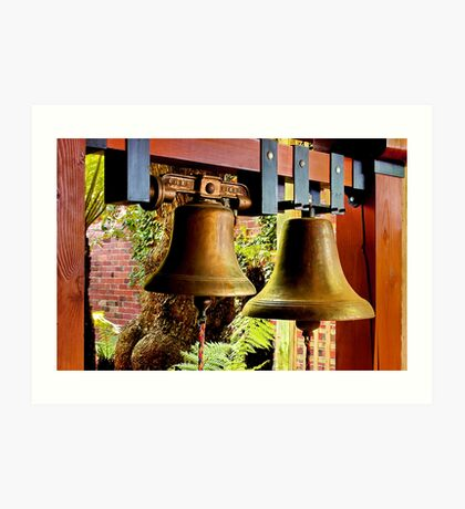 """The Mission Bells"" Art Print"
