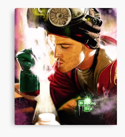 Breaking Bad - Jesse Pinkman Canvas Print