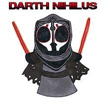 Darth Nihilus Puff Photographic Print