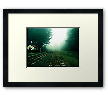 No Trains Framed Print