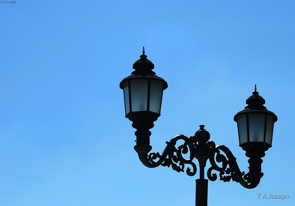 Lamp by the Wayside by T A Joseph