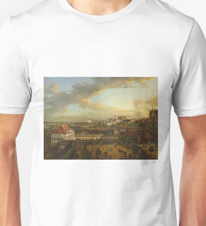 Bernardo Bellotto - View Of Warsaw From The Terrace Of The Royal Castle1773 Unisex T-Shirt