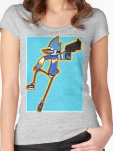 Regular Overdrive - Mordecai Women's Fitted Scoop T-Shirt