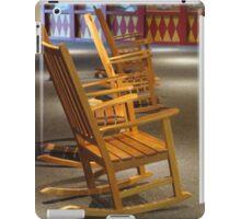 Rocking Chairs in Waiting iPad Case/Skin
