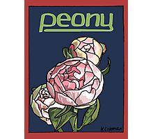 Peony Photographic Print