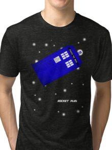 Doctor Who Rocket Man Tri-blend T-Shirt