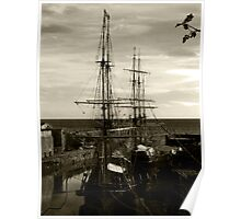 Tall ships  Poster