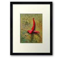 Peppers Framed Print