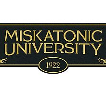 Miskatonic University (Staff Mug -1922) by AmazingRobyn