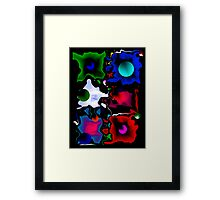 Abstract in Color Framed Print