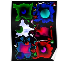 Abstract in Color Poster