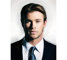 Chris Hemsworth Photographic Print